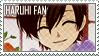 Ouran Haruhi Stamp by erjanks