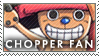 One Piece Chopper Stamp by erjanks