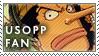One Piece Usopp Stamp by erjanks