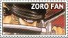 One Piece Zoro Stamp