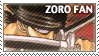One Piece Zoro Stamp by erjanks