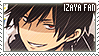 Durarara Izaya Stamp by erjanks