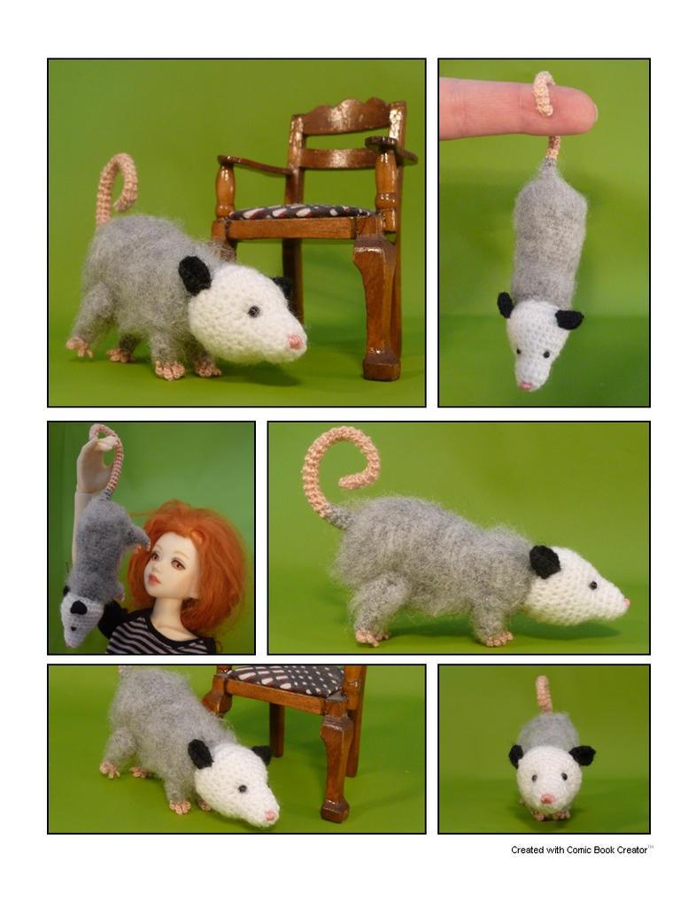 Opossum by MightyStarGazer