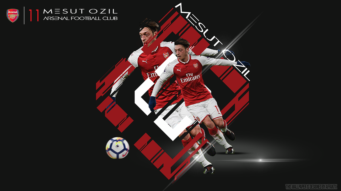 Mesut Ozil By Affan7x On DeviantArt