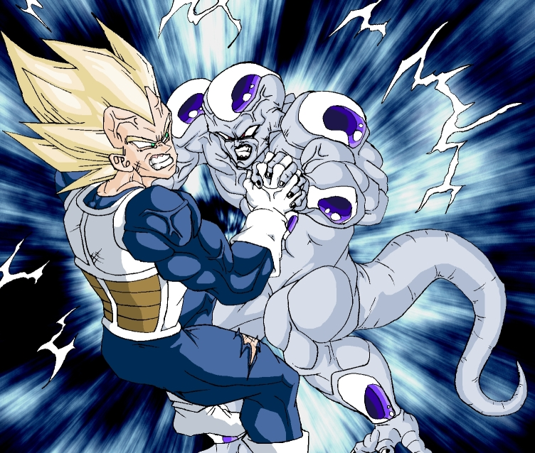 Super Saiyan Vegeta vs Frieza by MiCOOLGoinx on DeviantArt