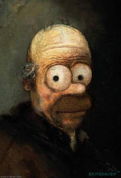 Rembrandt's Homer