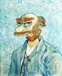 Groundskeeper Willie Van Gogh