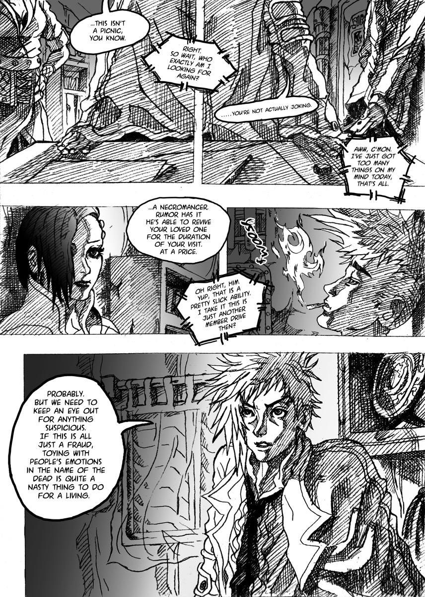 Magic-Witchcraft: Pilot pg2 by chicken-blast