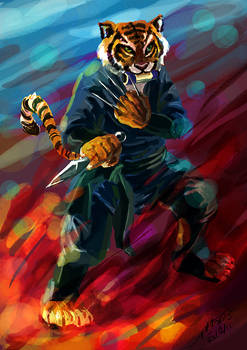 Ninja Tiger