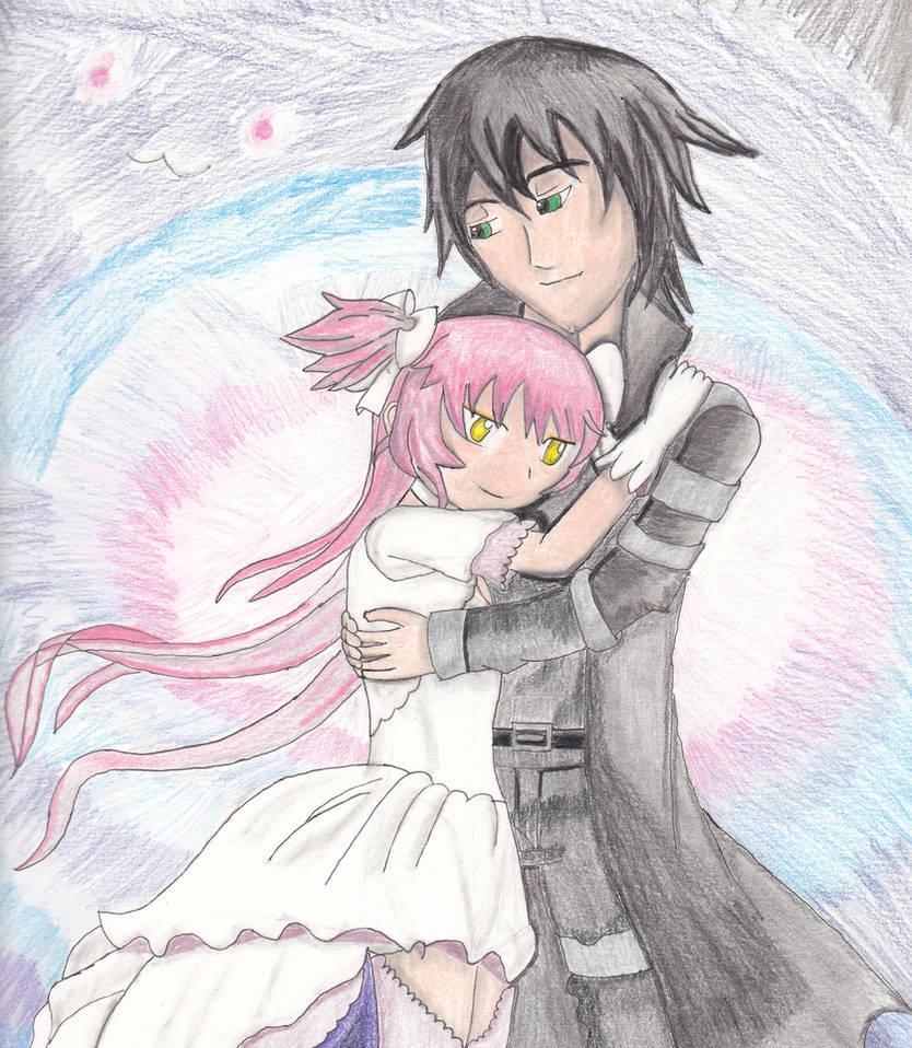 Embraced by Madokami