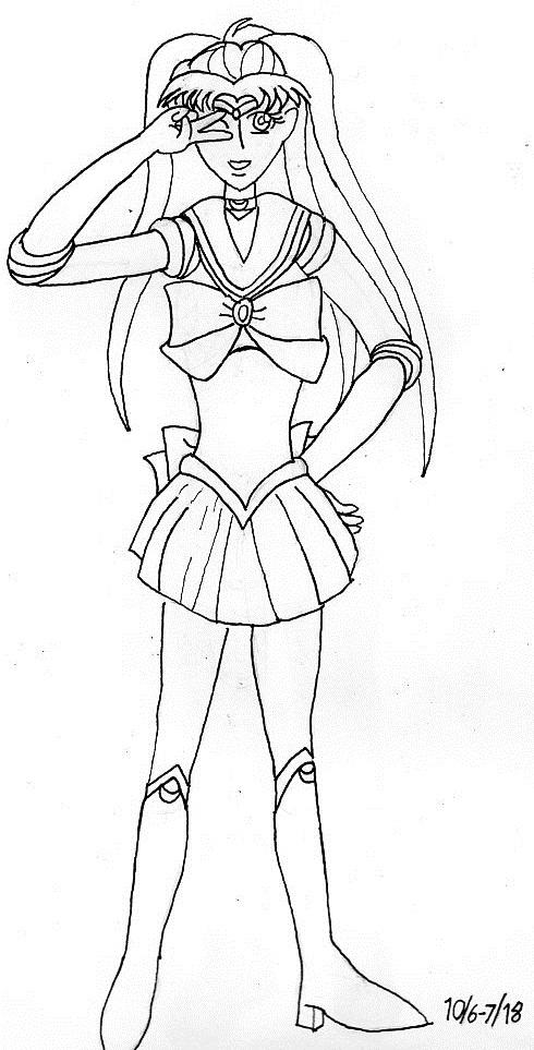 Inktober Sailor Gutara