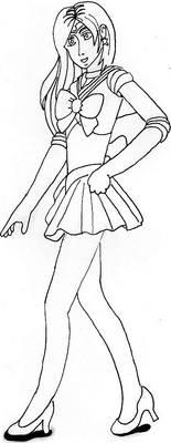 Inktober Sailor Alanabeth
