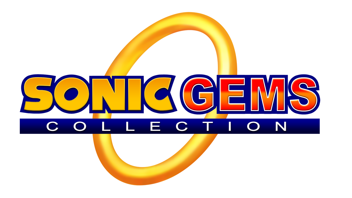 Sonic Gems Collection Logo Remade by NuryRush