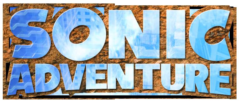 Sonic Adventure Logo Remade by NuryRush on DeviantArt