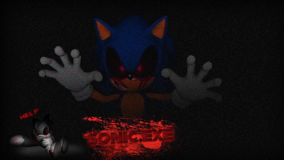 Sonic.EXE Wallpaper by NuryRush