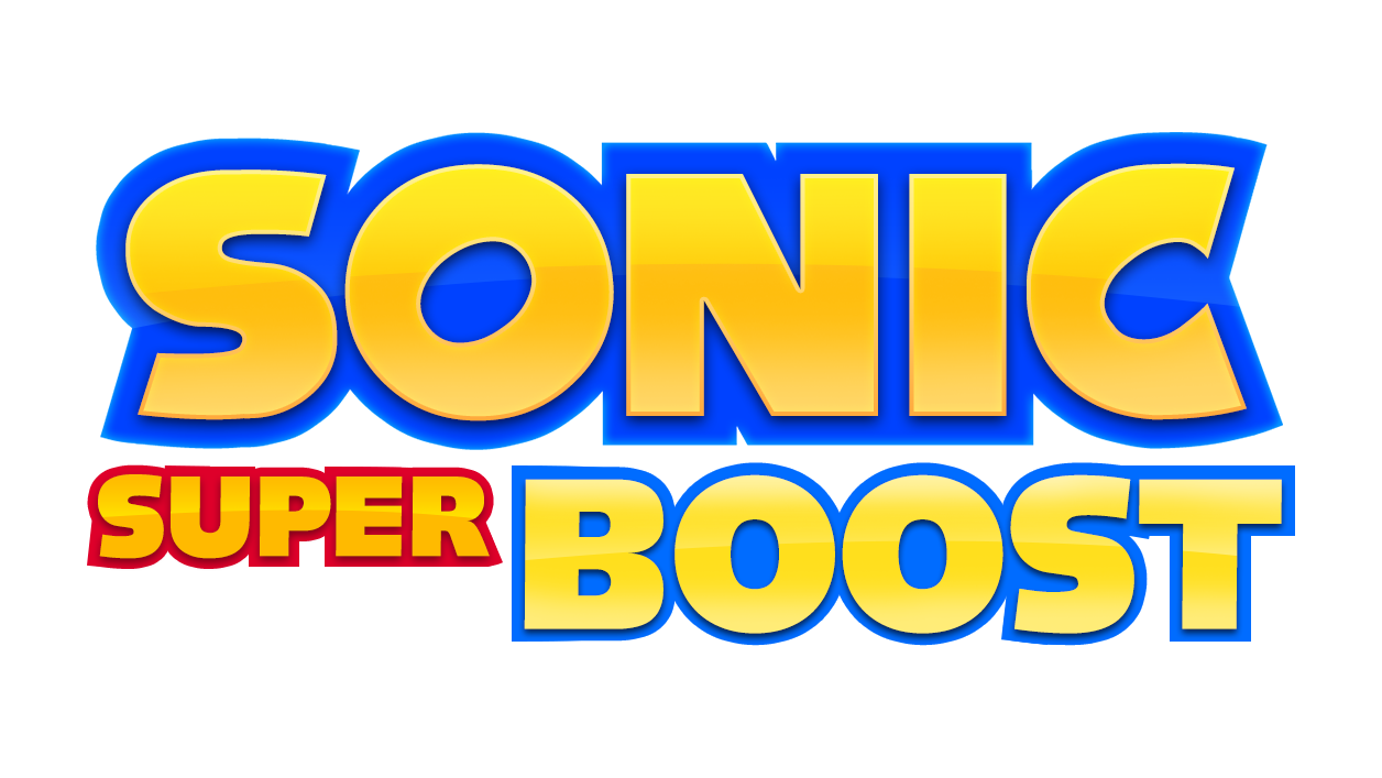 Sonic Super Boost Fan Logo by NuryRush
