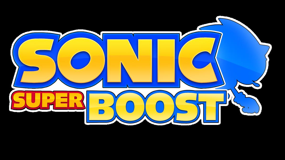 Sonic Super Boost Logo V2 by NuryRush
