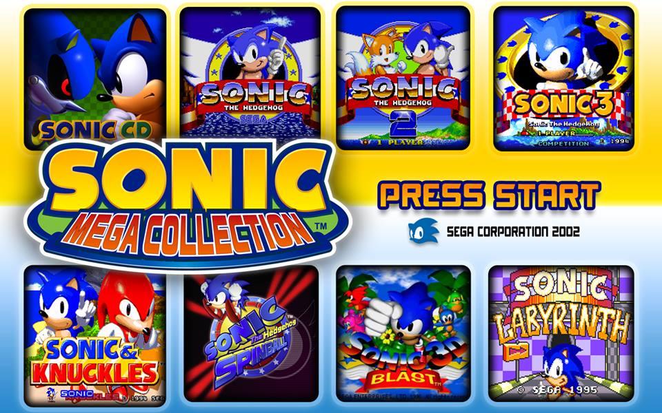 Sonic Mega Collection Wallpaper by NuryRush