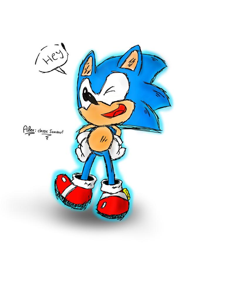 Classic Sonic by NuryRush