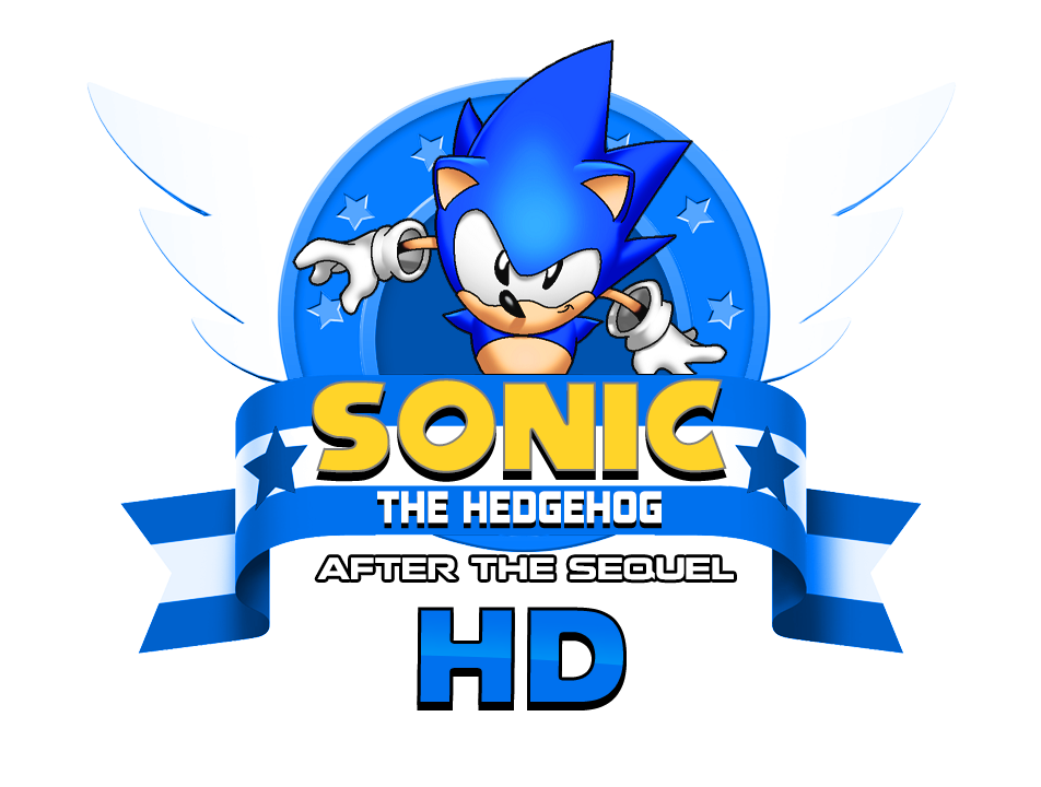 Sonic After The Sequel Fan Game logo remade HD by NuryRush