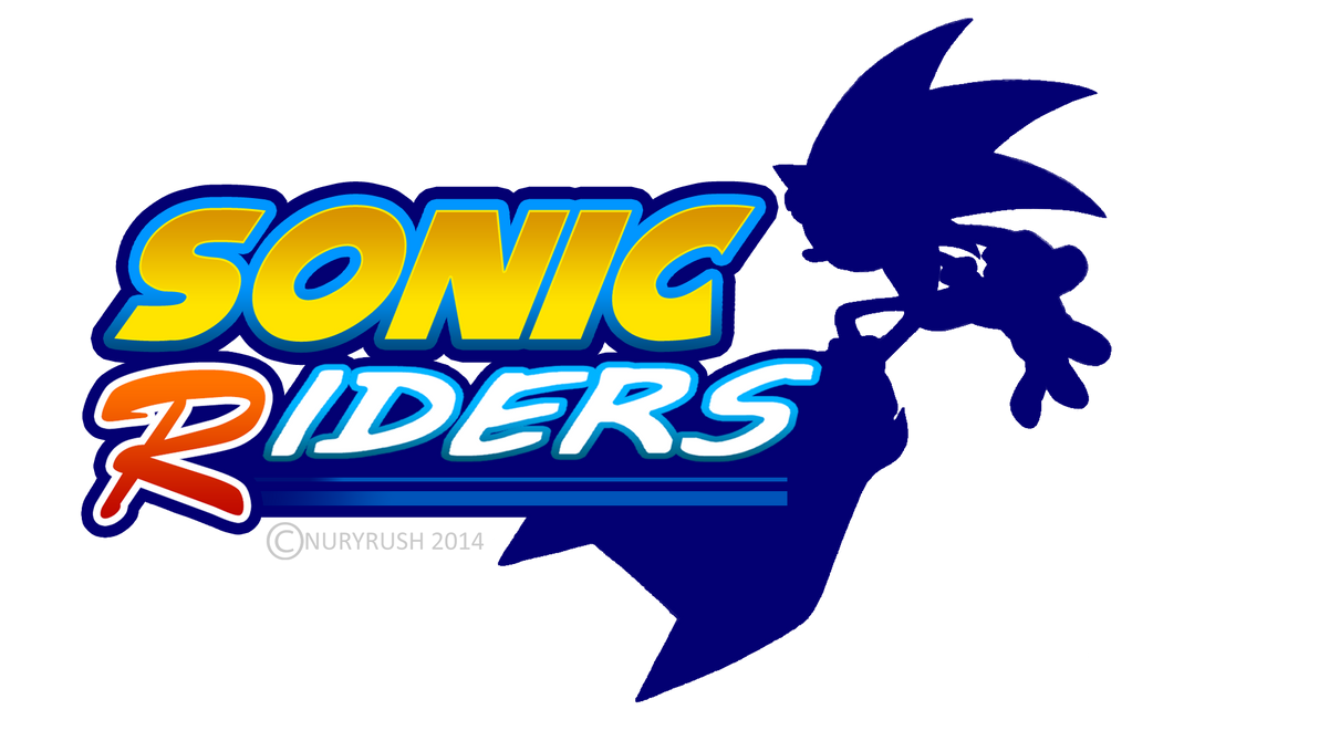 Sonic Riders Logo Remade by NuryRush