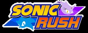 Sonic Rush Logo Remade by NuryRush