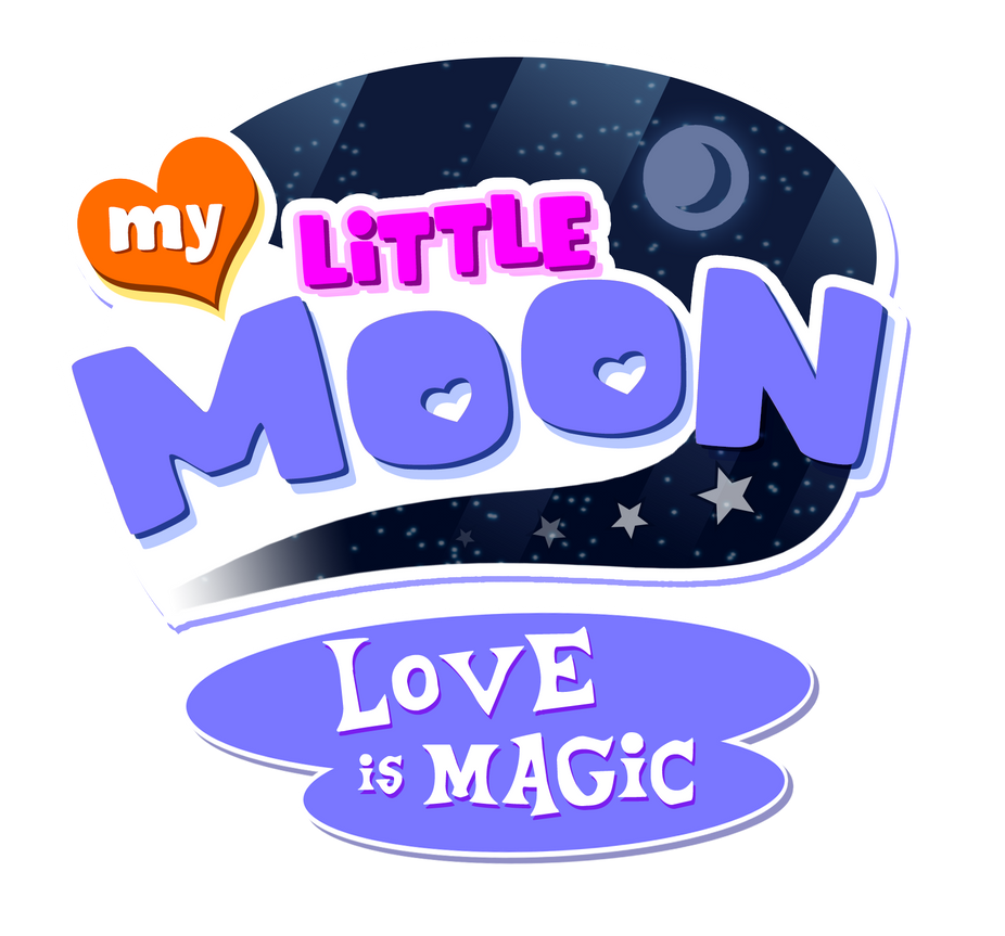 My Little Moon Love Is Magic Logo by NuryRush