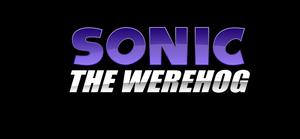 Sonic The Werehog logo by NuryRush