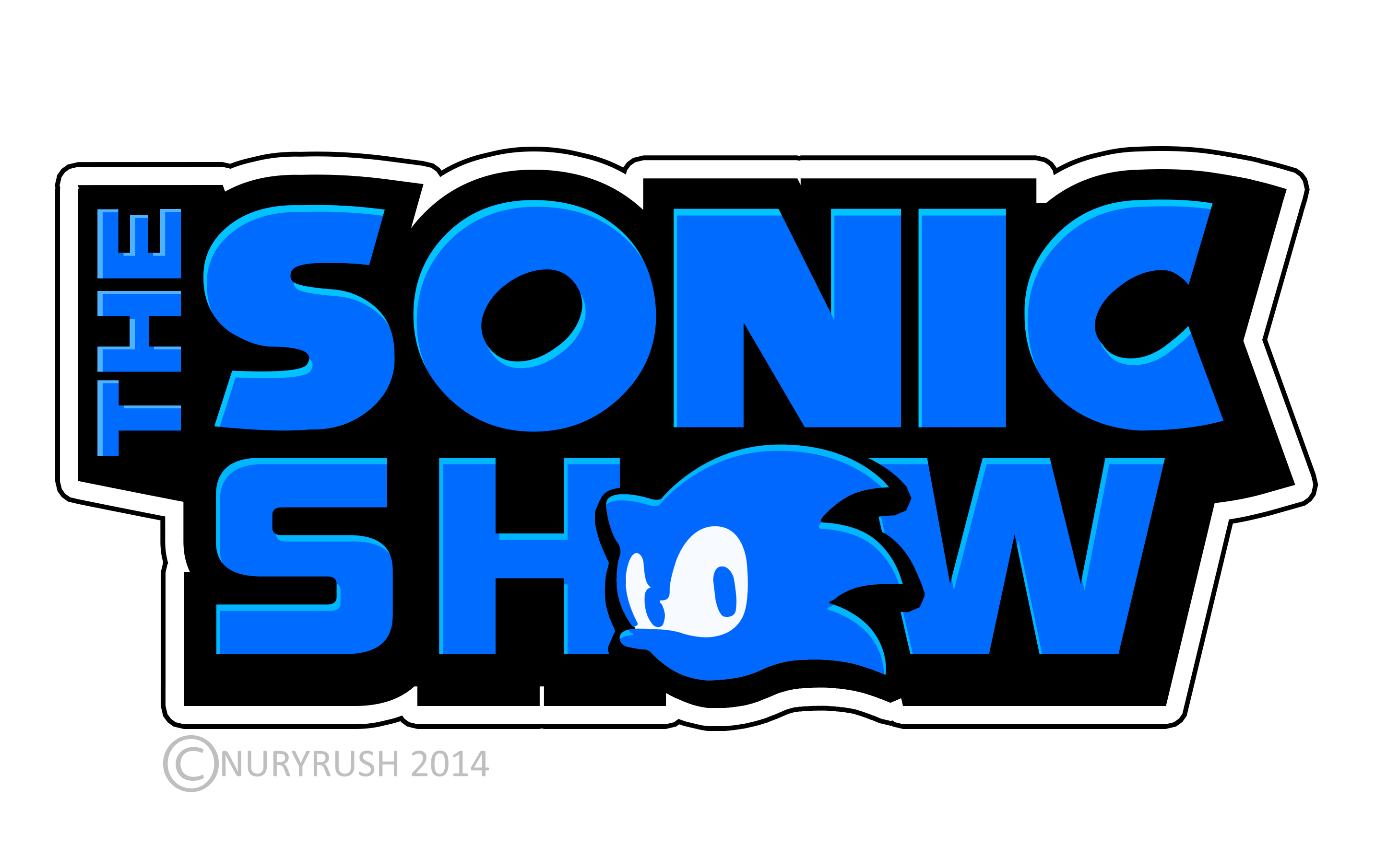 The Sonic Show logo remade by NuryRush