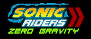 Sonic Riders Zero Gravity Logo remade by NuryRush