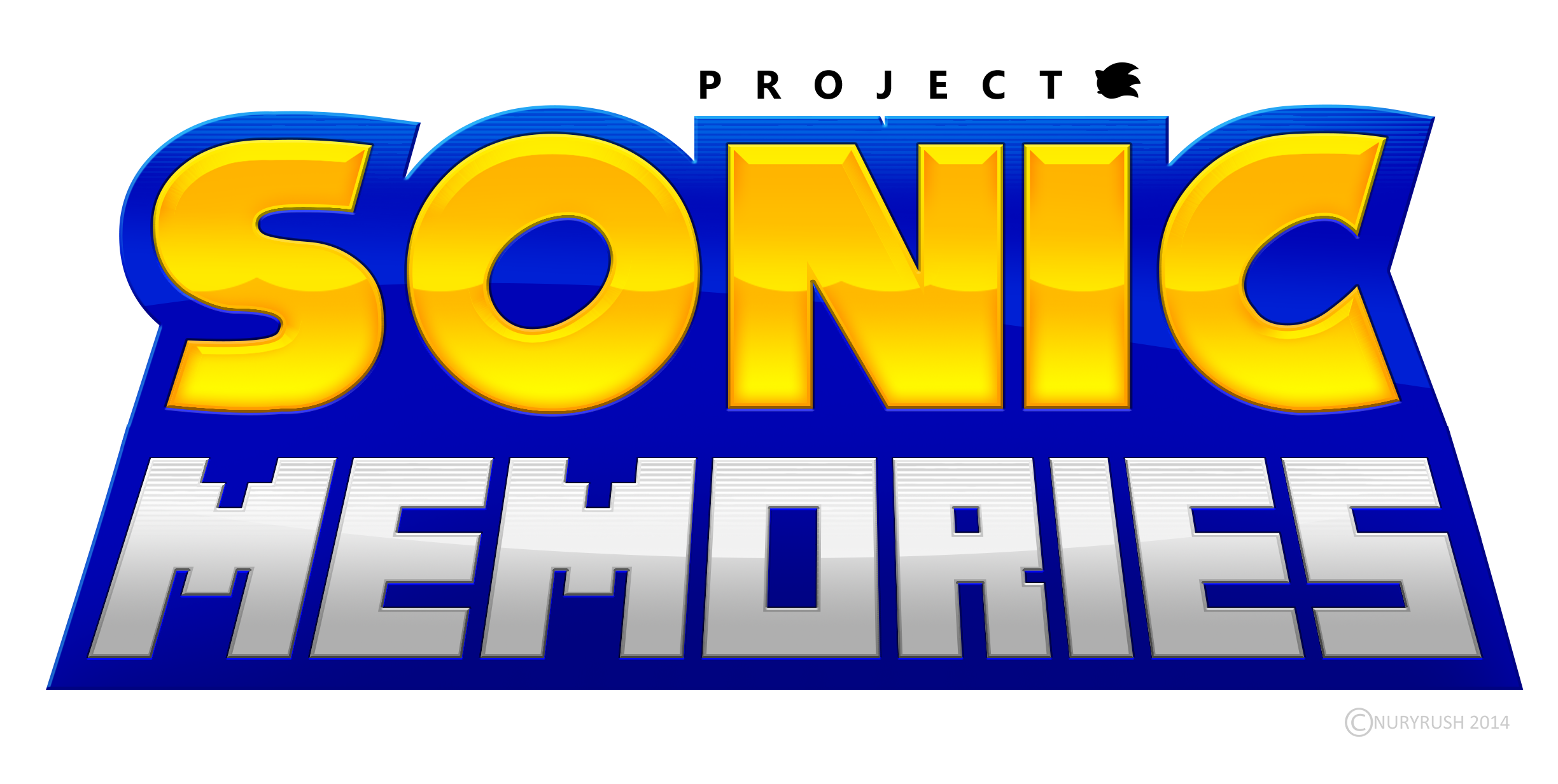 Sonic Memories New Official Logo by NuryRush