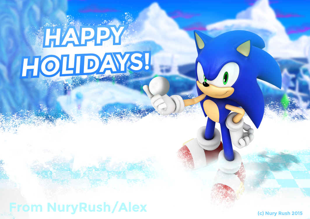 Happy Holidays From Me! by NuryRush