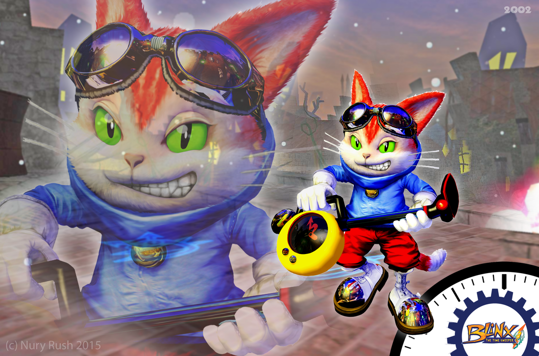 Blinx The Time Sweeper Wallpaper by NuryRush