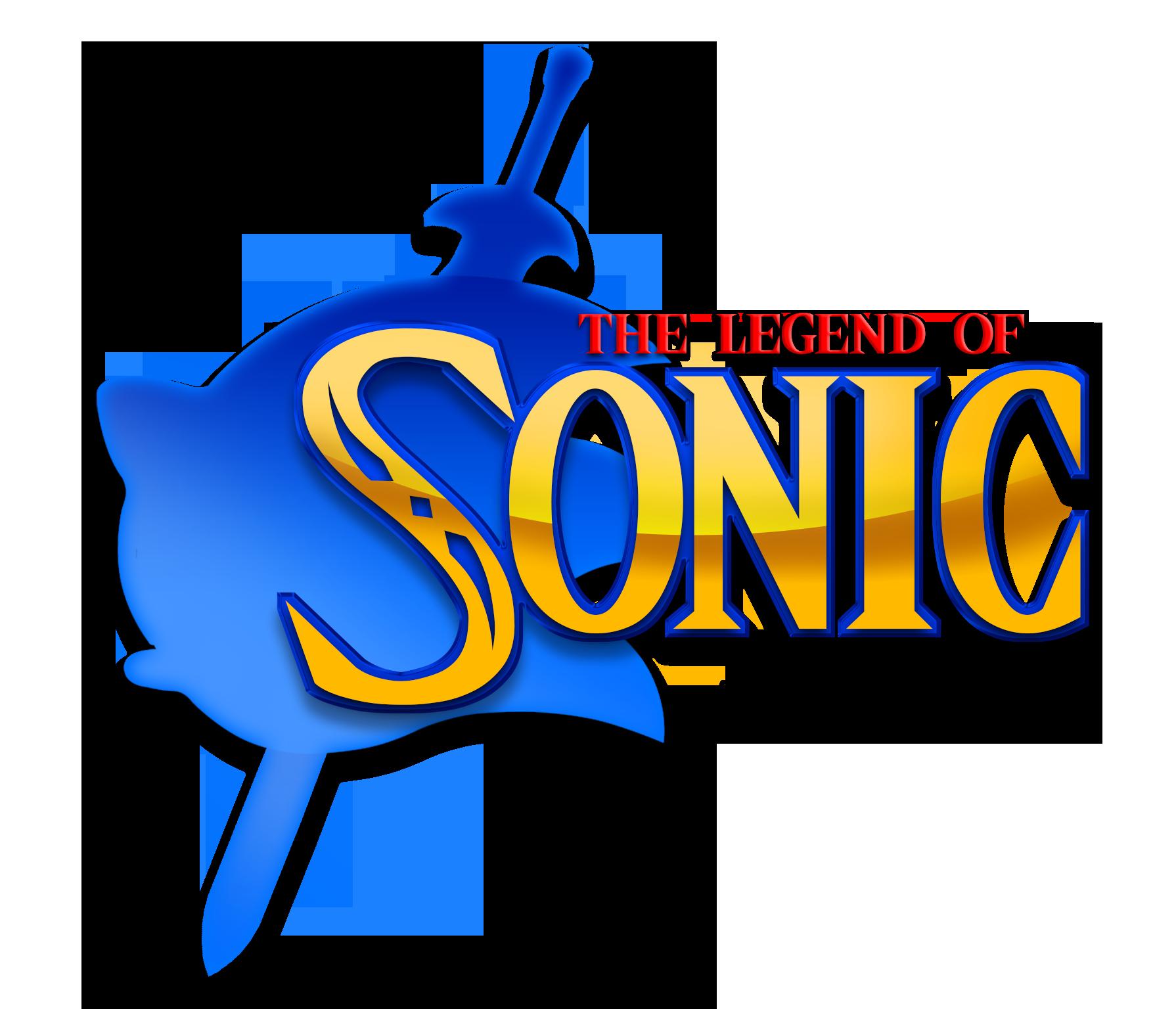The Legend Of Sonic Logo by NuryRush