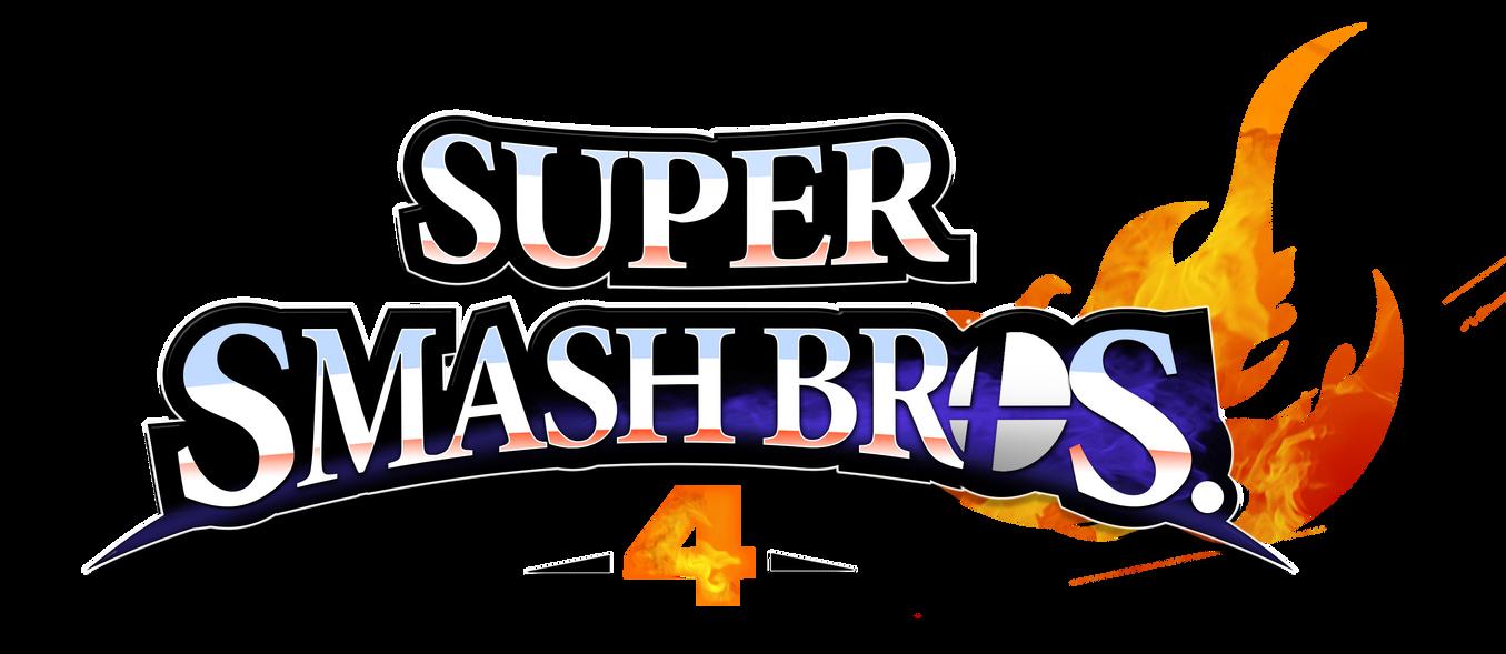 Super Smash Bros. 4 Logo Remade by NuryRush on DeviantArt