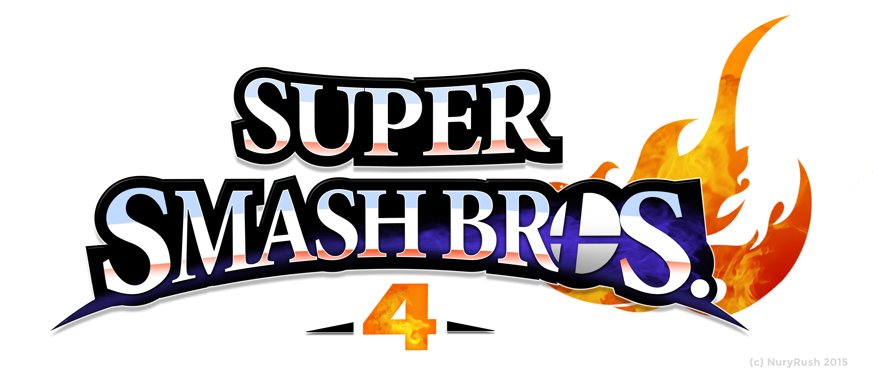 Super Smash Bros Logo Remade Nuryrush Unlock Characters Ultimate