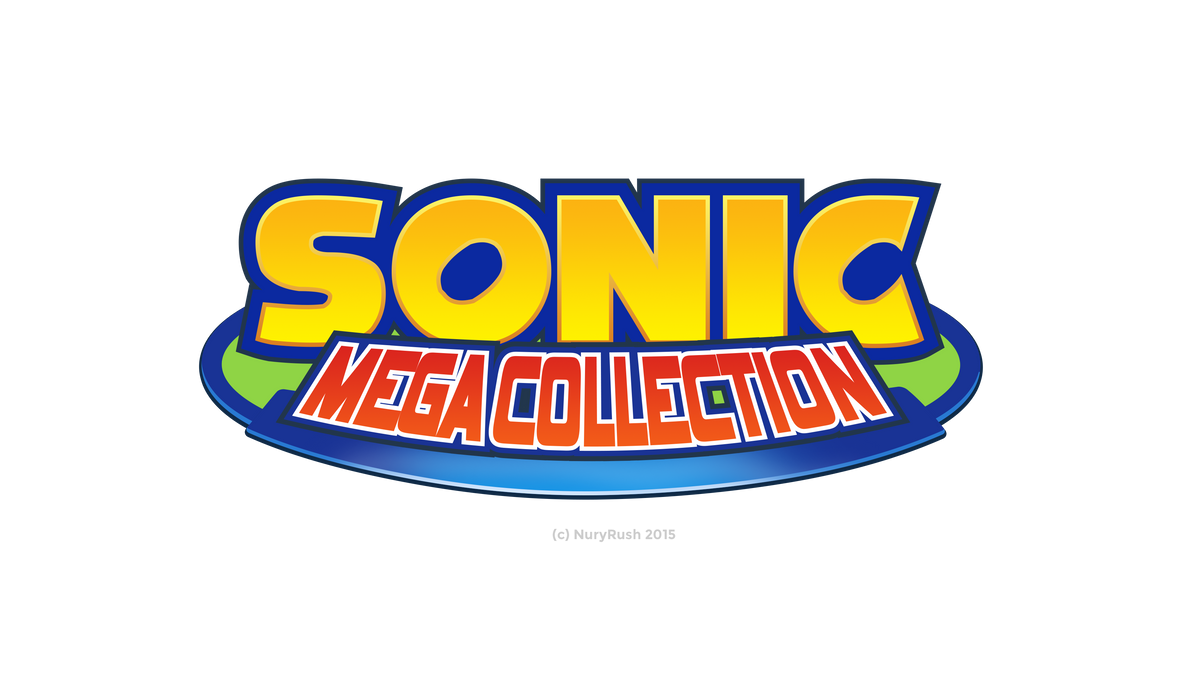 Sonic Mega Collection Logo Remade by NuryRush
