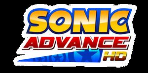 Sonic Advance HD Logo by NuryRush