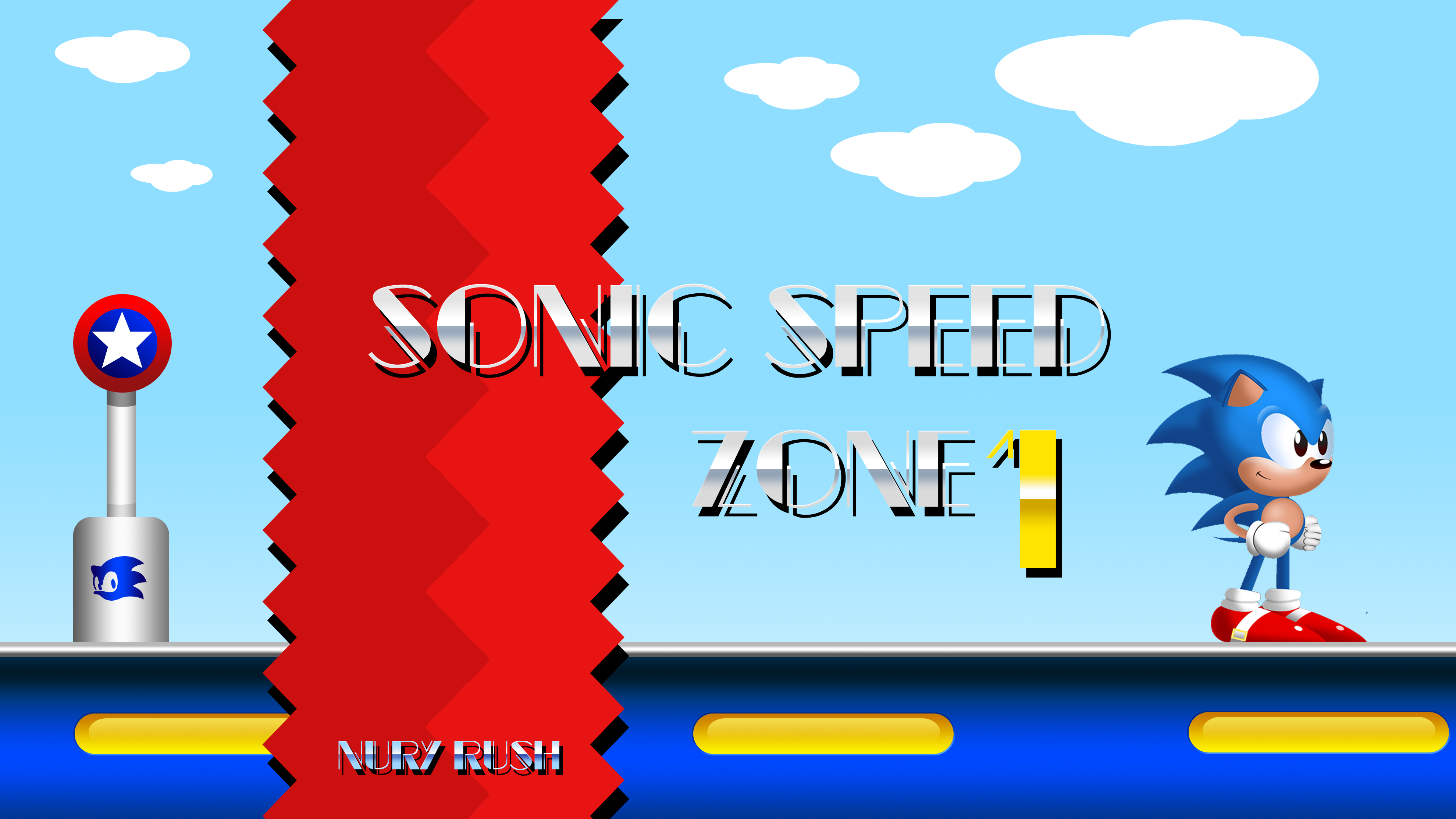 Sonic Speed Zone S2HD Style by NuryRush