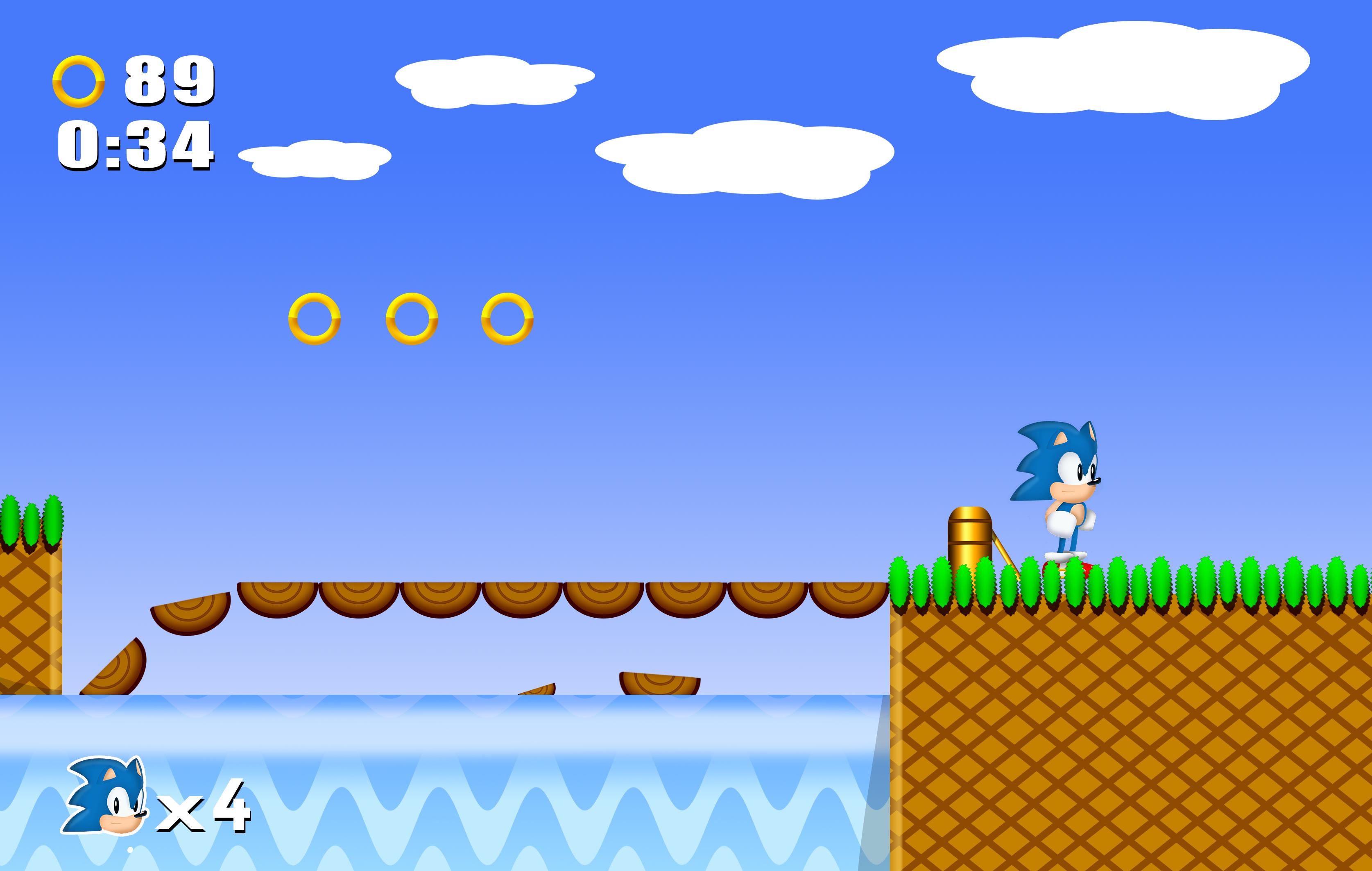 Sonic The Hedgehog Game Gear Bridge Zone HD by NuryRush