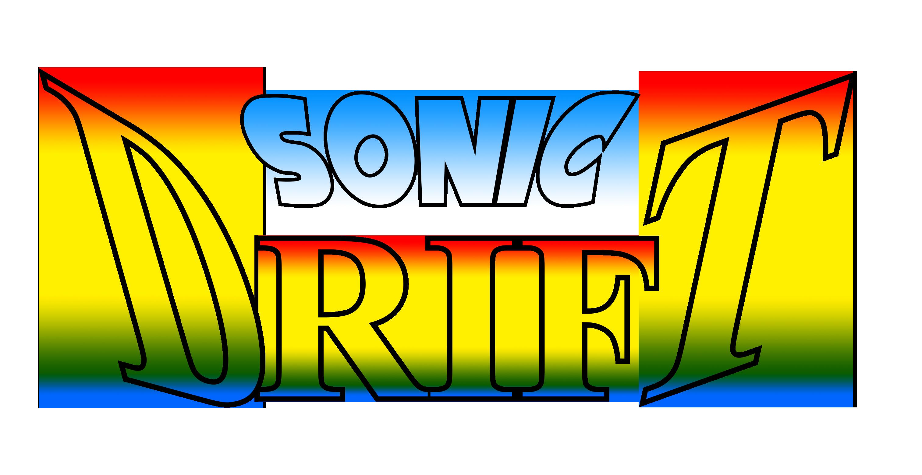 Sonic Drift Logo Remade HD by NuryRush