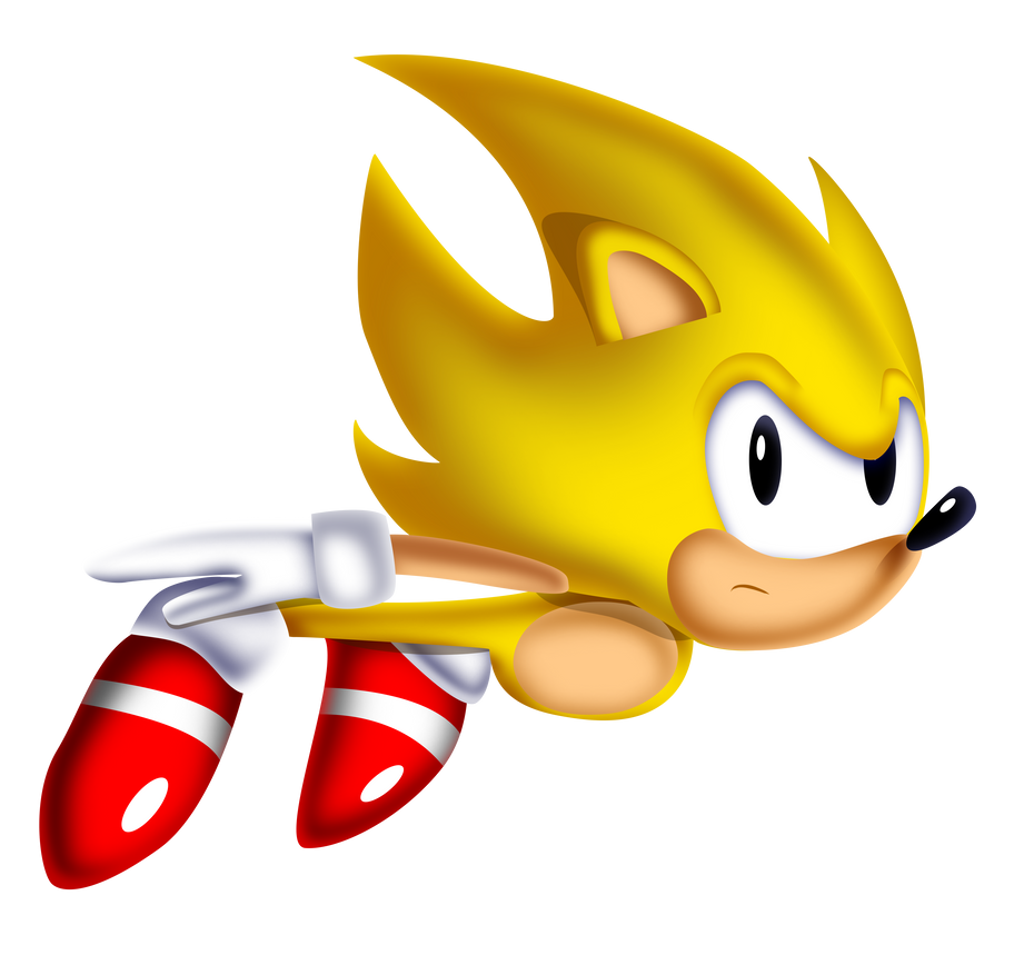 classic super sonic the hedgehog images galleries with a bite. Black Bedroom Furniture Sets. Home Design Ideas