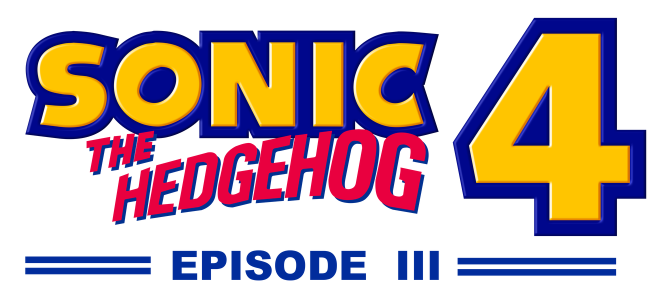 Sonic 4 Episode III Logo by NuryRush