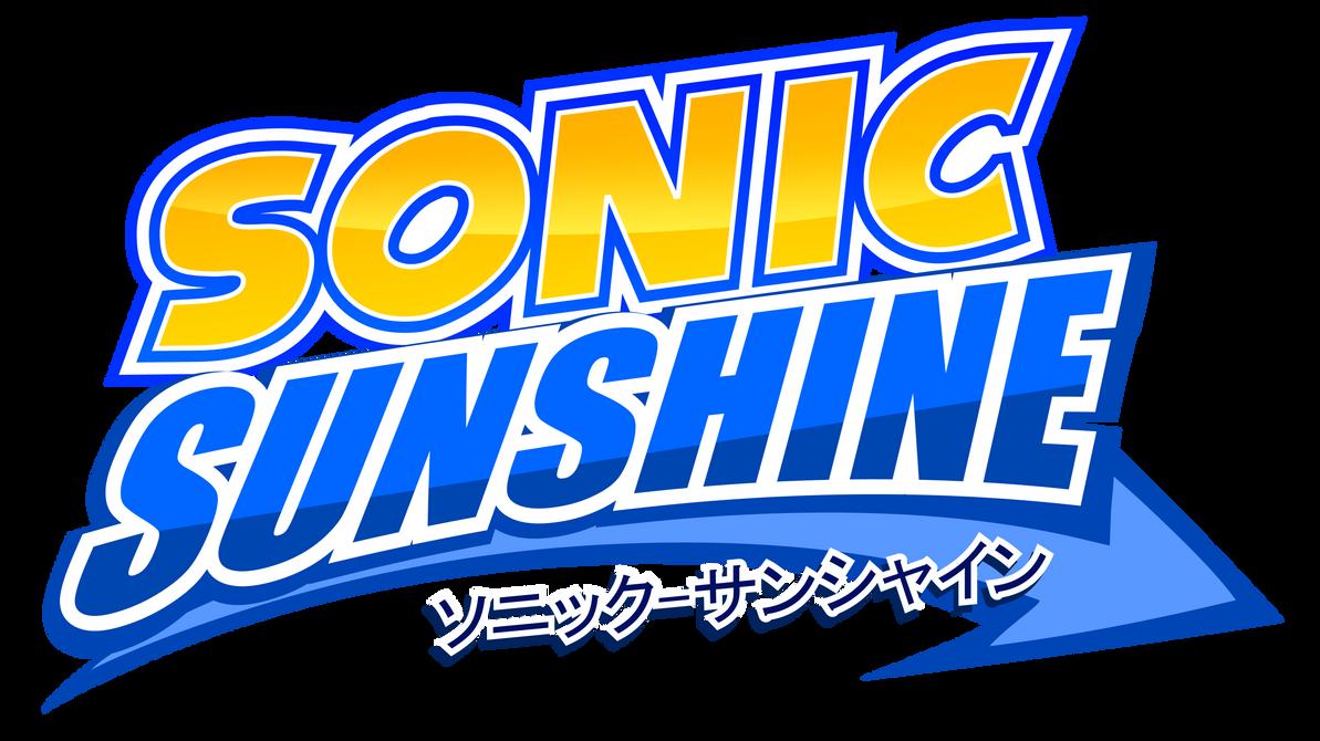 Sonic Sunshine Logo by NuryRush
