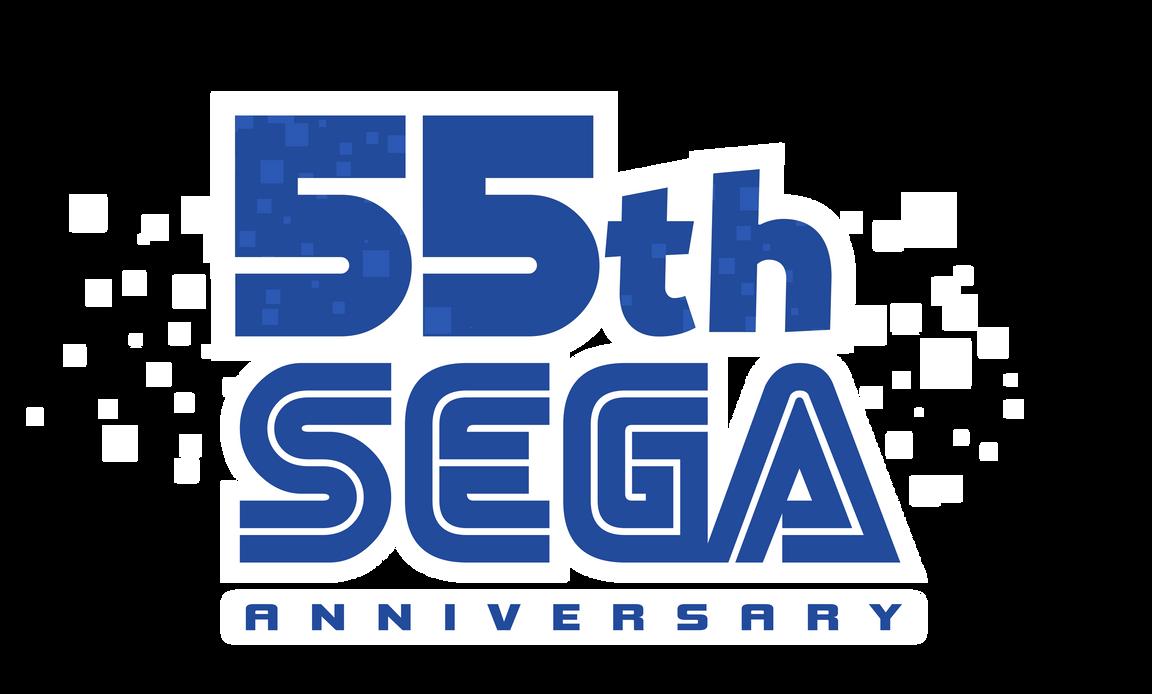 SEGA 55th Anniversary Logo by NuryRush