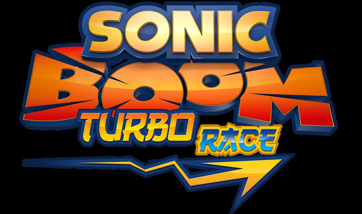 Sonic Boom : Turbo Race Logo by NuryRush