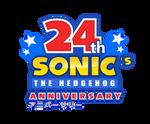 24th Sonic's Anniversary Logo - Happy Birthday!