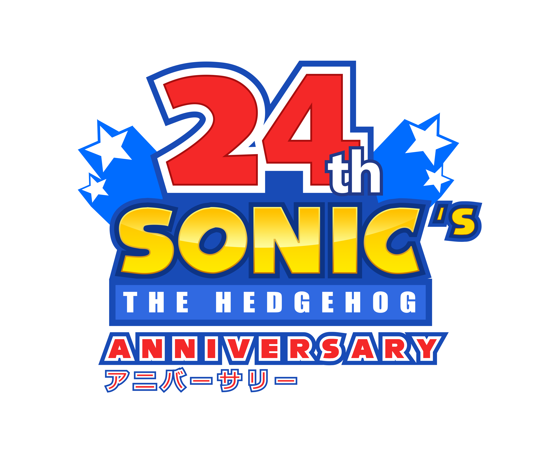 24th Sonic's Anniversary Logo - Happy Birthday! by NuryRush