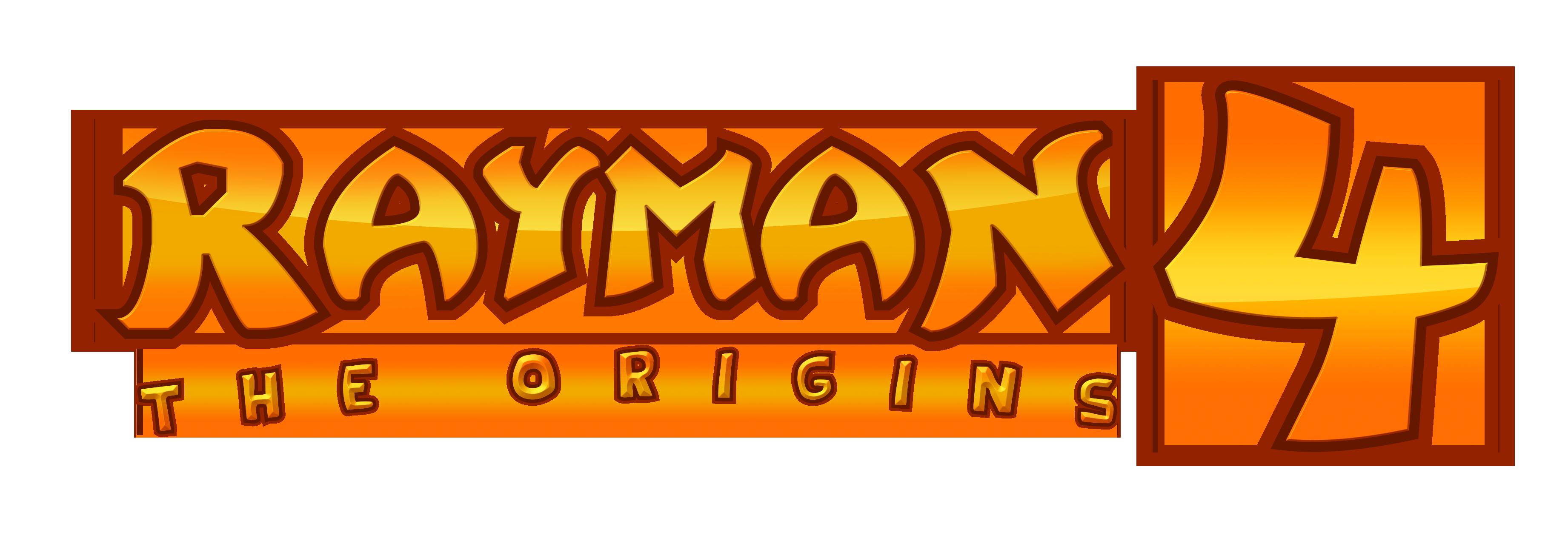 Rayman 4 : The Origins Logo by NuryRush