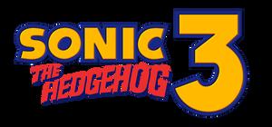 Sonic The Hedgehog 3 Modern Edition Logo by NuryRush